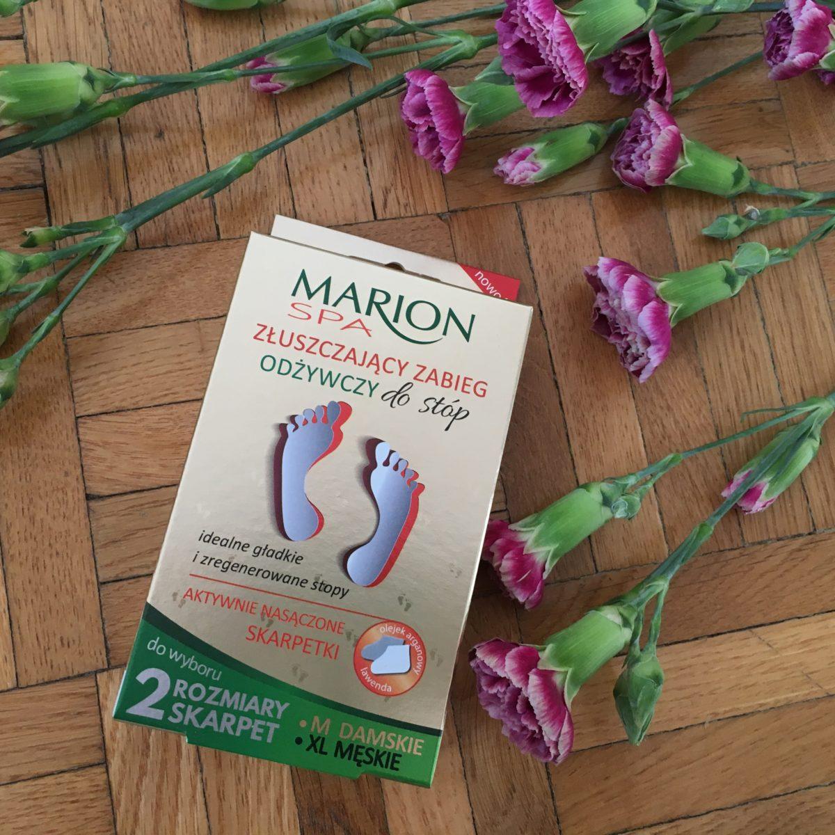 Marion skarpetki złuszczający zabieg