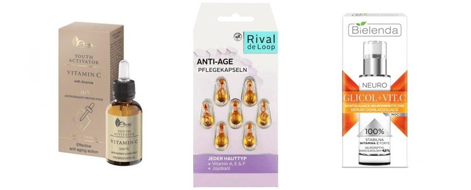 annemarie serum Ava youth activator witamina C | Rival de loop antiage | Bielenda neuro glicol + vit. C