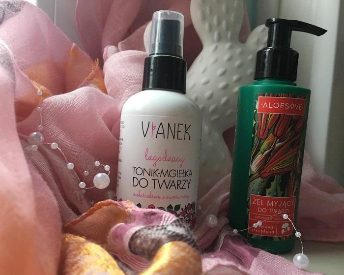 annemarie Vianek łagodzący tonik-mgiełka| Aloesove żel myjący do twarzy