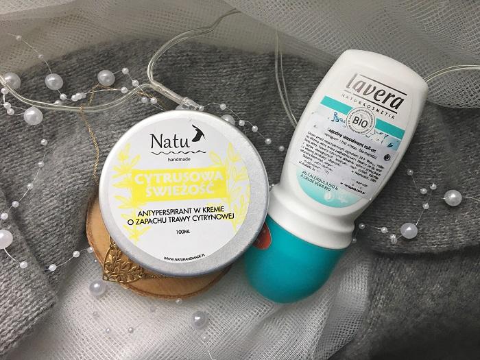 dezodorant naturalny Natu handmade | Lavera sensitiv bio