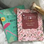 Porównanie książek Eat pretty Jolene Hart i Beauty & food Emilie Hebert