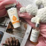 W poszukiwaniu nawilżacza – hydrokuracja z kurkumą Orientana a nawilżająco-wygładzające serum Fresh&Natural