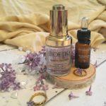 Miks nawilżająco-olejowy: serum żelowe Bioetiq i wygładzające figa Mokosh