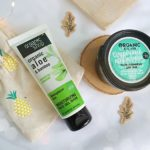 Żelowe maseczki nawilżające: bambusowa Organic Shop i ogórkowa Organic Kitchen