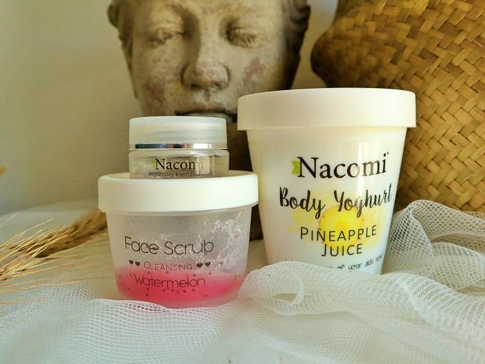 Nacomi kosmetyki - peeing, jogurt, krem pod oczy